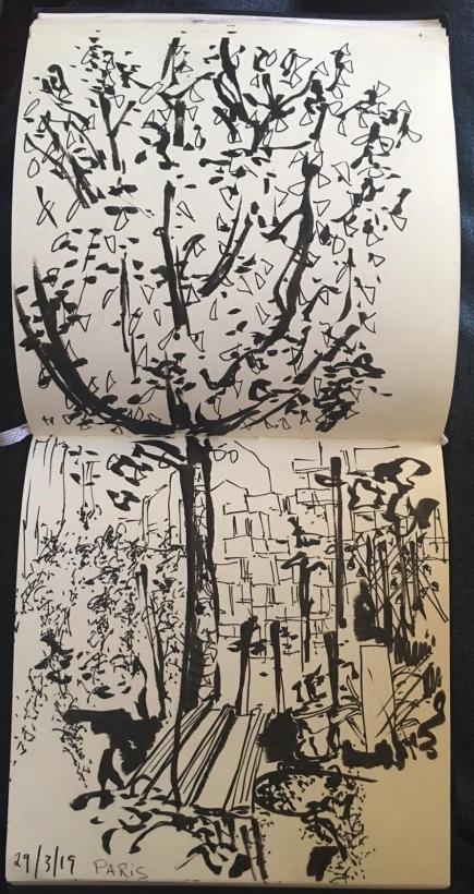 sketch by Ruth Richmond